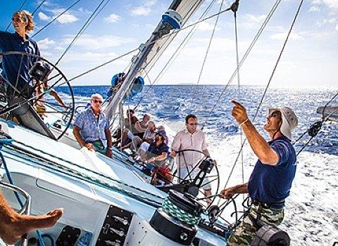 ruta en velero por las islas canarias norte