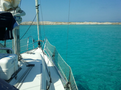 dos días en velero por ibiza y formentera
