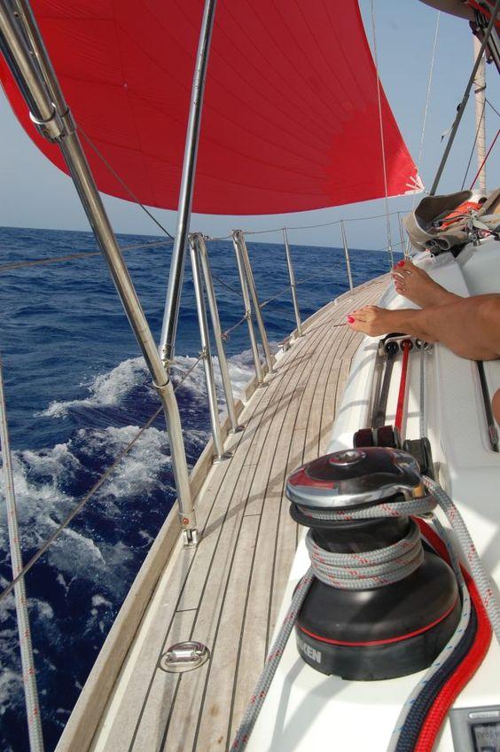 El viento en Menorca